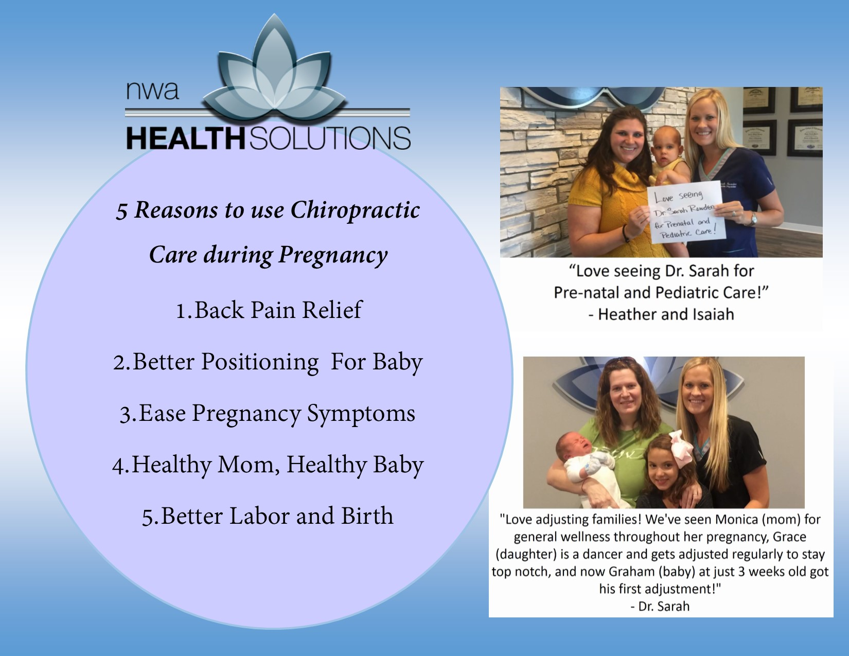5 Reasons to Use Chiropractic Care During Pregnancy